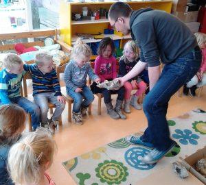Aerden Plaats - archeoloog in de klas